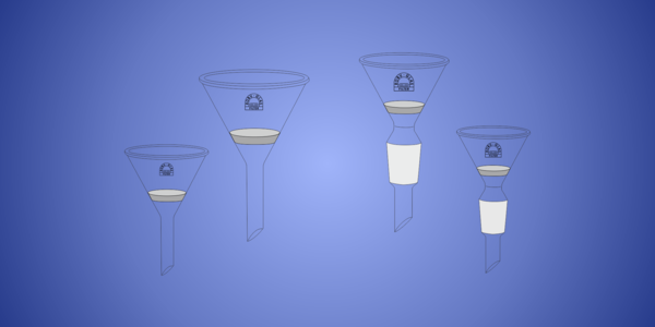 Filter Funnels, conical