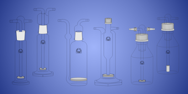 Gas Washing Bottles